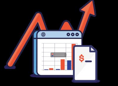 dashboard grafico cuentas por pagar